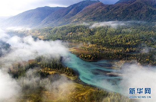 空中拍摄最美风景图片